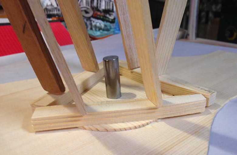 gluing soundhole reinforcement disk